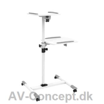 concept universal projektorbord p hjul. Black Bedroom Furniture Sets. Home Design Ideas