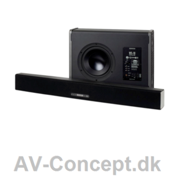 Monitor Audio ASB-10 Soundbar inkl. WS10 Basmodul