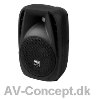 PAK10DMP Aktivhøjtaler med MP3-afspiller, radio og bluetooth. 150W