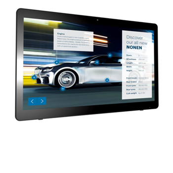 "Philips 24"" PCAP Multi touch display"