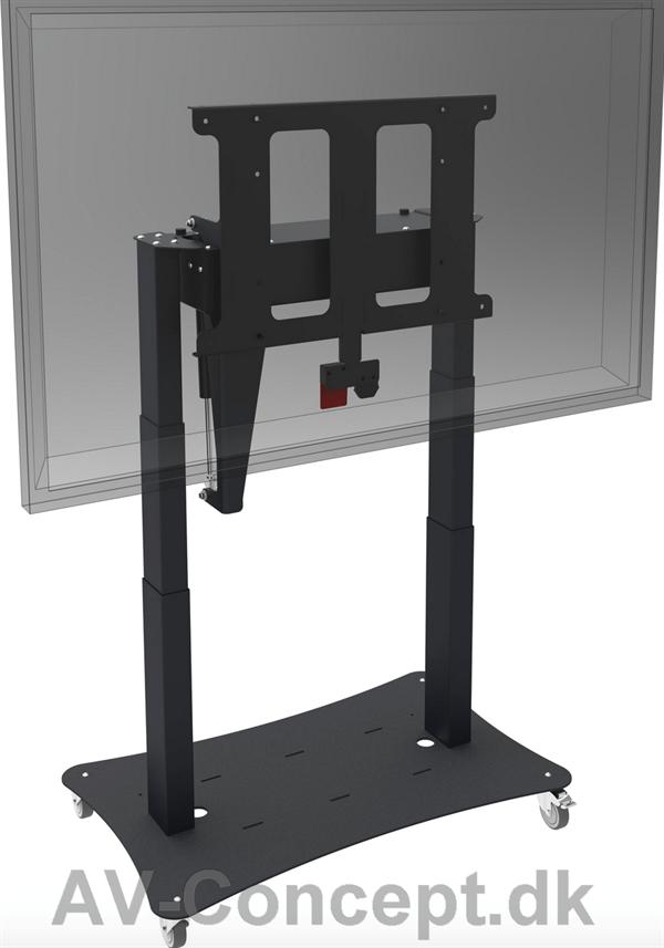 smart metal bord stander 65 gas. Black Bedroom Furniture Sets. Home Design Ideas
