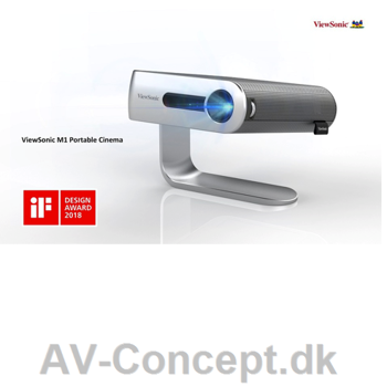 ViewSonic M1 Portable Projector - WVGA - 250 Ansi-lumen